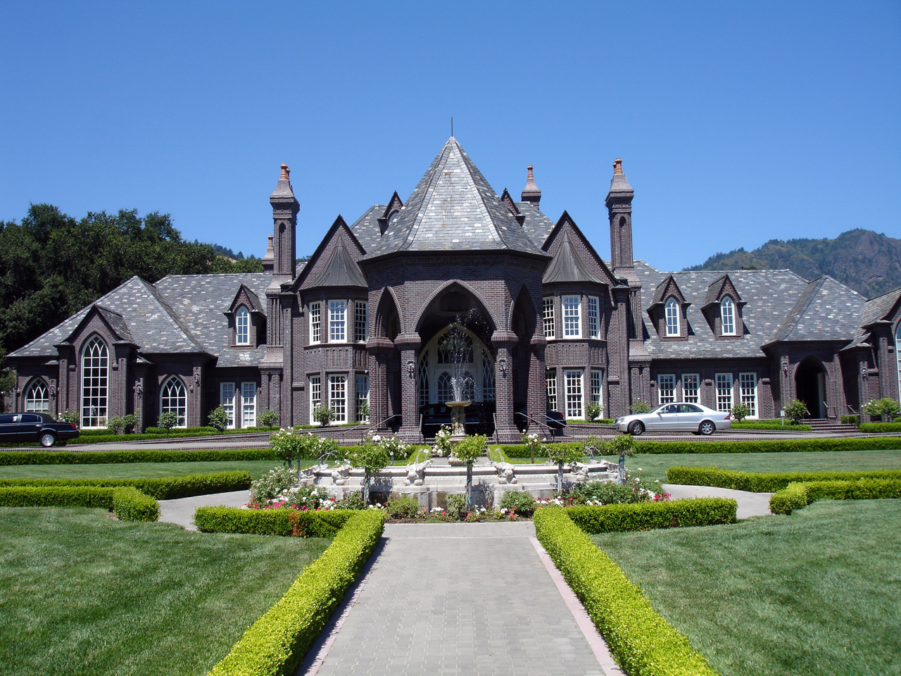 2011 ledson winery vineyards russian river valley Castle home